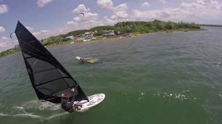 #windsurf chased by #fpv #drone Gorni Dabnik Bulgaria