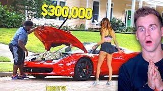 Gold Digger Girlfriend Loves The Ferrari...(EXPOSED)