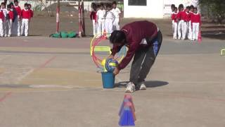 Race for small kids on sports day