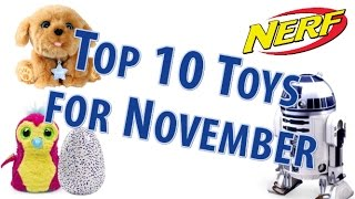 TTPM Top 10 Toys in November 2016