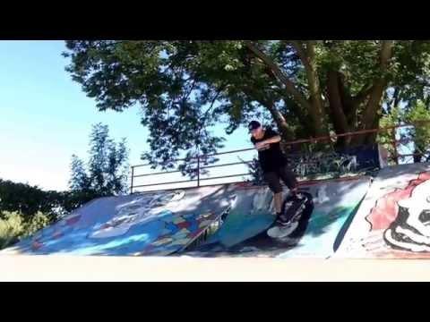 Cedar Falls Skate Park Session