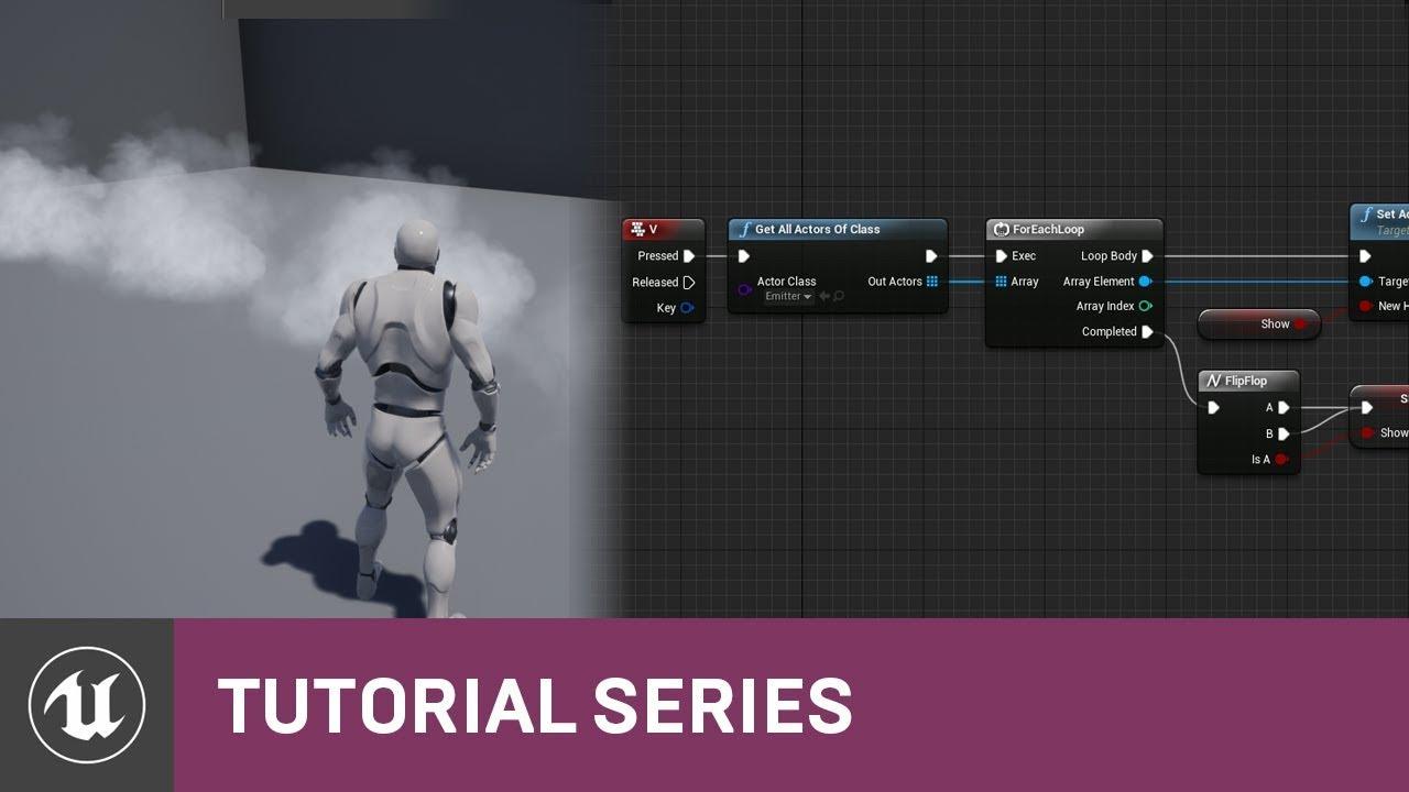 Blueprint Essentials: For Each Loop | 12 | v4.2 Tutorial Series | Unreal Engine
