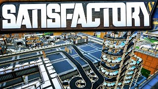 AUTOMATE IT ALL; Factory Revamp for 100% Efficiency! | Satisfactory Early Access Gameplay Ep 7