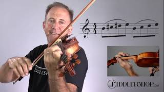 A Fiddlerman Favorite Etude from Sevcik Book 1 No 6
