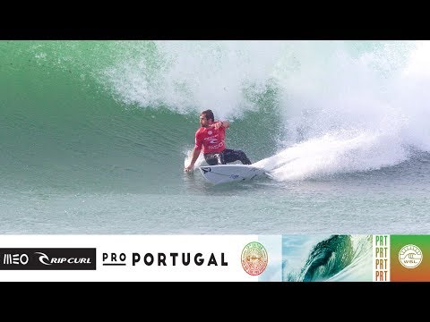 Duru vs. Igarashi vs. Carmichael - Round Four, Heat 3 - MEO Rip Curl Pro Portugal 2018