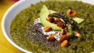 How to Make a Healthy And Hearty Green Super Soup Recipe • Tasty
