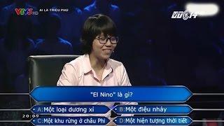 """(VTC14)_El nino là gì mà thí sinh """"Ai là triệu phú"""""""