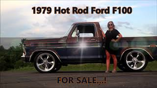 Rawhide 1979 Ford F100 Hot Rat Street Rod Patina Pickup Shop Truck Muscle