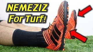 GOOD QUALITY, BAD FIT! - Adidas Nemeziz Tango 17.3 Turf (Pyro Storm) - Review + On Feet