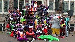 Sinterklaas is weer in Hellevoetsluis aangekomen