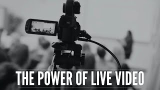Growing an Audience Through Live Streaming: 5 Strategies for Live Video | AMA Madison Presentation
