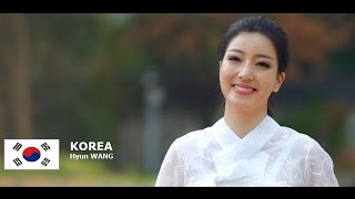 Wang Hyun Contestant from South Korea for Miss World 2016 Introduction
