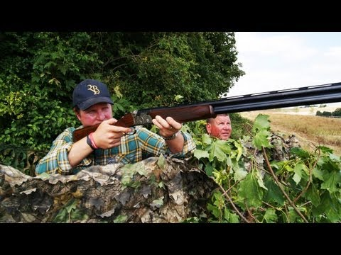 Fieldsports Britain – Cricketer Rob Key and George Digweed on the pigeons