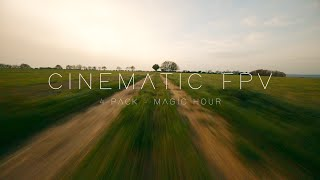4 Pack - Magic Hour || CINEMATIC FPV DRONE 4K - (GoPro HERO 8 Black)