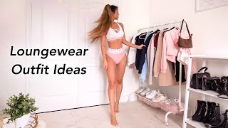 CASUAL LOUNGEWEAR OUTFITS | Comfy Stay Home Lookbook
