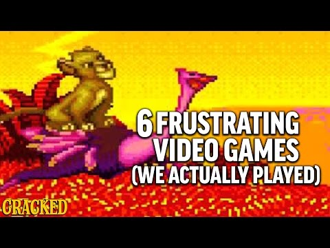 6 Classic Video Games That Are Frustratingly Impossible