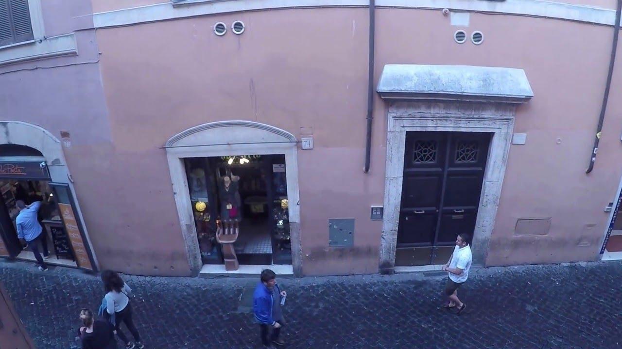 Elegant 1-bedroom apartment with mezzanine floor for rent in Trastevere area