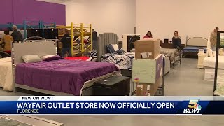 Wayfair outlet store officially opens