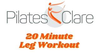 Pilates Legs Workout