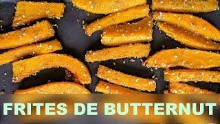 Des frites de... butternut!