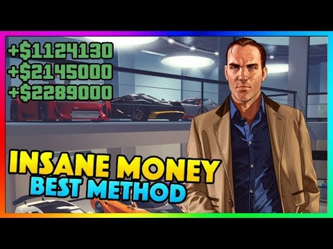 GTA 5 ONLINE - *NEW* SOLO UNLIMITED MONEY METHOD! | Best Fast Easy GTA Online Money Guide