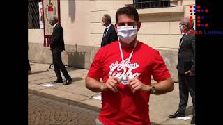 Sentido homenaje a brigada médica de Cuba en Italia