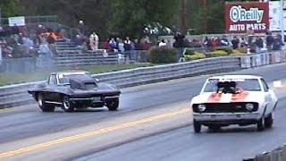 OMG! Corvette HANGS THROTTLE, Almost Saves It