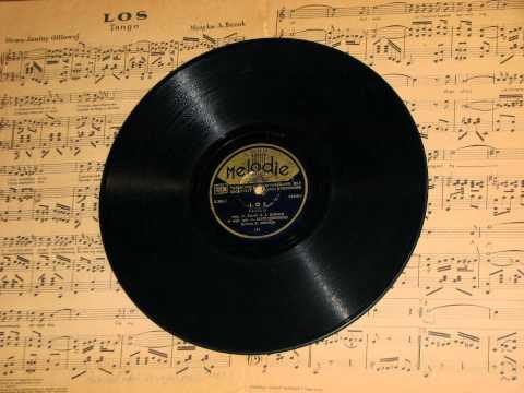 """Zenon Jaruga """"Los"""" - tango 1947 r."""