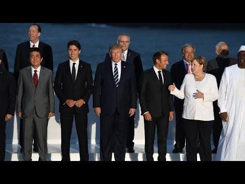 Η G7 ολοκληρώνεται με συνομιλίες για τo κλίμα και την ψηφιακή οικονομία