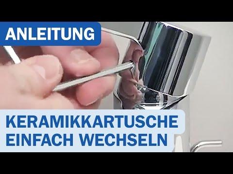 Anleitung: Hansgrohe Keramikkartusche einfach austauschen