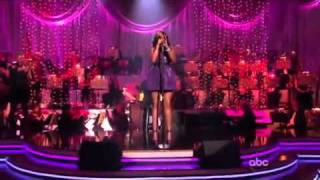 Jennifer Hudson - Don't Look Down (Dancing With The Stars) LIVE