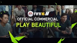 <h5>FIFA16: Play Beautiful <br> Traktor / UK casting by <br> Kate and Lou Casting</h5>