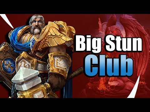 Stun King? Uther and the Hammer of Justice - Heroes of the Storm w Kiyeberries