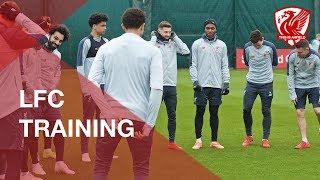 Liverpool FC Training | Feat. Gomez, Salah And Mane