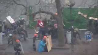 Растрел Майдана 20 февраля 2014