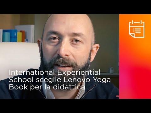 IES e Lenovo collaborano sullo Yoga Book: ma cos'è?