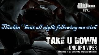 Take You Down | Unicorn Viper lyrics video