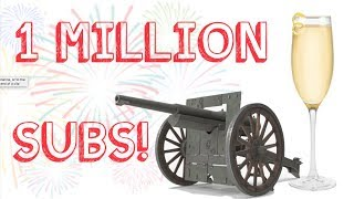 One Million Subscriber Special! The French 75 - Guns, Drinks, and Shirts!