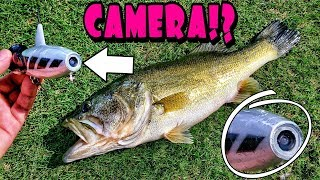Fishing With a ROBOT Lure!? It Has a CAMERA Built in!!