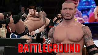 WWE Battleground 2K16: Randy Orton RETURNS & ATTACKS Sami Zayn!