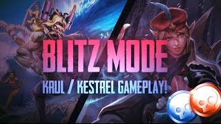 Vainglory Blitz Mode - Ep 2: GAWD THIS IS NASTY!! Krul/Kestrel |WP/CP| Gameplay [Update 2.1]