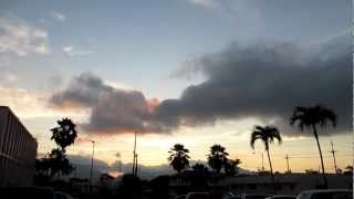 preview picture of video 'Sunset Wahiawa General Hospital Oahu Hawaii'