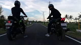 Bajaj Pulsar 180 Vs Yamaha FZ-s 150 Drag Race || Part 2 ||