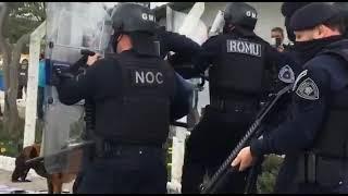 Agentes da Guarda Municipal de Florianópolis são agredidos por manifestantes do SINTRASEM