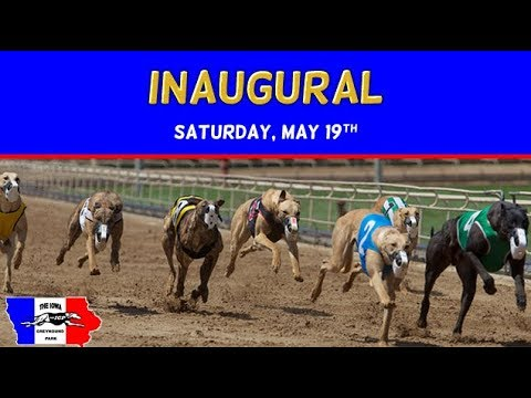 Iowa Greyhound Park's 2018 Inaugural