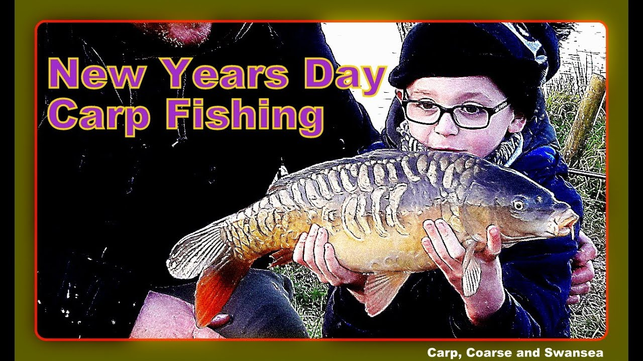 New Years Day Carp. Video 163