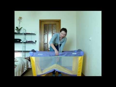 Супер-пупер удобный манеж ARENA для активных родителей:)