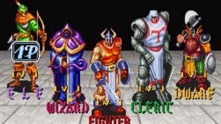 The King of Dragons SNES OST - Battle on a Mountain Peak Music (Amplified a little bit... :) )