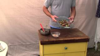 How To Grill Fruit Kabobs By BBQ Dragon