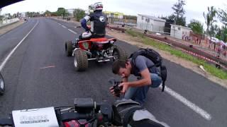 preview picture of video 'Supermotard Le Port 11/11/2012 les quads'